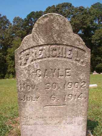 GAYLE, FRENCHIE L - Union County, Arkansas   FRENCHIE L GAYLE - Arkansas Gravestone Photos