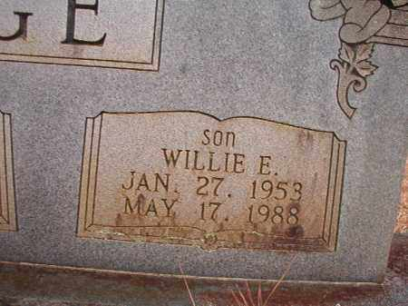 GEORGE, WILLIE E - Union County, Arkansas | WILLIE E GEORGE - Arkansas Gravestone Photos