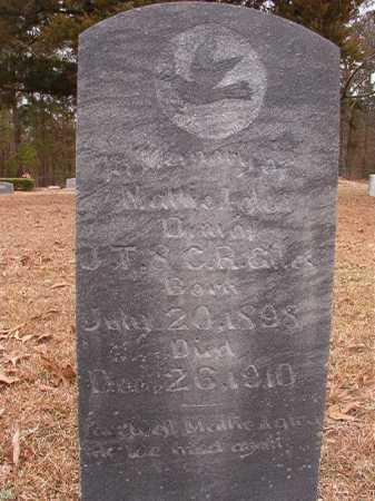 GILES, MATTIE LYDA - Union County, Arkansas   MATTIE LYDA GILES - Arkansas Gravestone Photos
