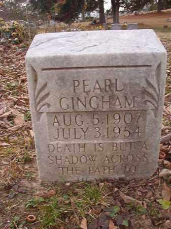 GINGHAM, PEARL - Union County, Arkansas | PEARL GINGHAM - Arkansas Gravestone Photos