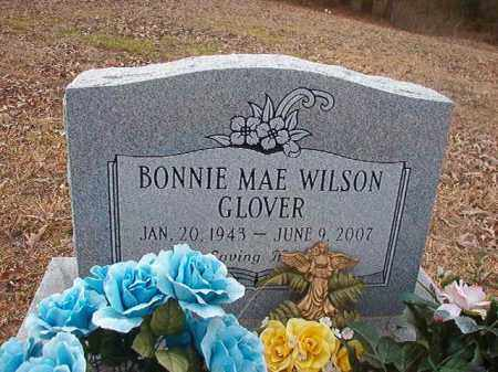 WILSON GLOVER, BONNIE MAE - Union County, Arkansas | BONNIE MAE WILSON GLOVER - Arkansas Gravestone Photos