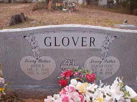 GLOVER, JENNIE B - Union County, Arkansas   JENNIE B GLOVER - Arkansas Gravestone Photos