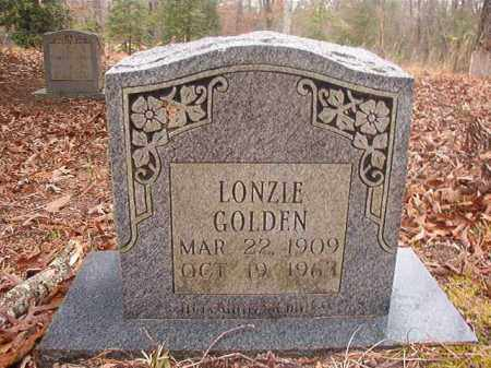 GOLDEN, LONZIE - Union County, Arkansas   LONZIE GOLDEN - Arkansas Gravestone Photos