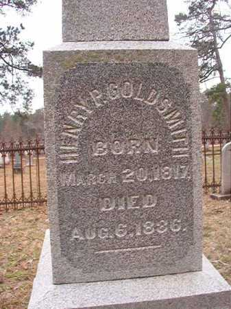 GOLDSMITH, HENRY P - Union County, Arkansas   HENRY P GOLDSMITH - Arkansas Gravestone Photos