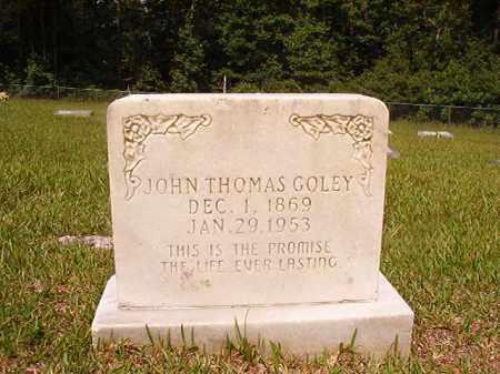 GOLEY, JOHN THOMAS - Union County, Arkansas | JOHN THOMAS GOLEY - Arkansas Gravestone Photos