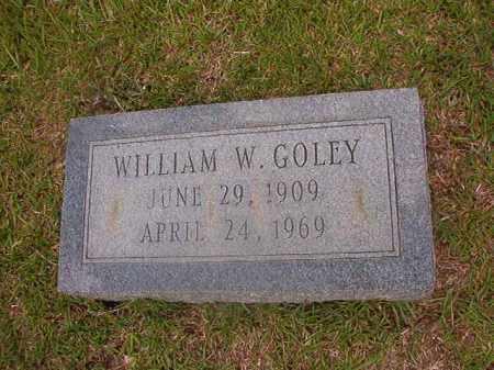 GOLEY, WILLIAM W - Union County, Arkansas   WILLIAM W GOLEY - Arkansas Gravestone Photos
