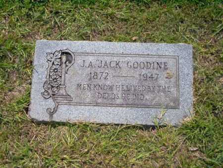"GOODINE, J.A. ""JACK"" - Union County, Arkansas | J.A. ""JACK"" GOODINE - Arkansas Gravestone Photos"