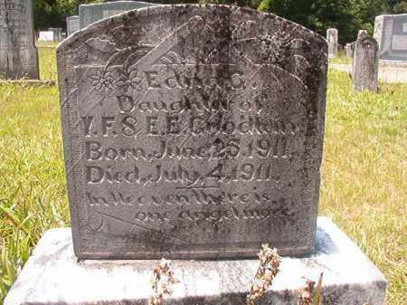 GOODWIN, EDNA C - Union County, Arkansas | EDNA C GOODWIN - Arkansas Gravestone Photos