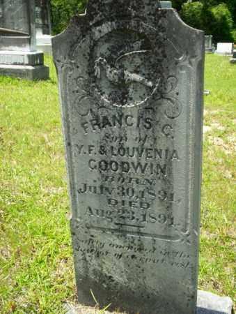 GOODWIN, FRANCIS C - Union County, Arkansas   FRANCIS C GOODWIN - Arkansas Gravestone Photos