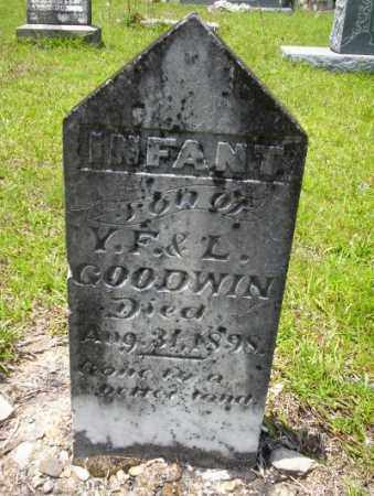 GOODWIN, INFANT SON - Union County, Arkansas | INFANT SON GOODWIN - Arkansas Gravestone Photos