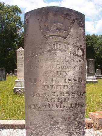 GOODWIN, J R - Union County, Arkansas | J R GOODWIN - Arkansas Gravestone Photos