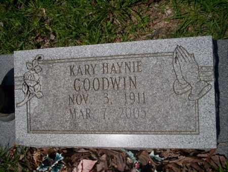 GOODWIN, KARY - Union County, Arkansas | KARY GOODWIN - Arkansas Gravestone Photos