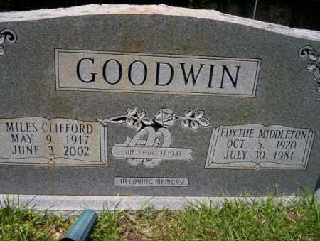 GOODWIN, MILES CLIFFORD - Union County, Arkansas | MILES CLIFFORD GOODWIN - Arkansas Gravestone Photos
