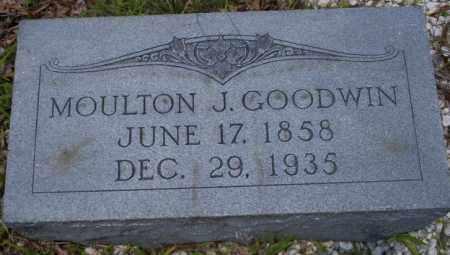 GOODWIN, MOULTON J - Union County, Arkansas | MOULTON J GOODWIN - Arkansas Gravestone Photos