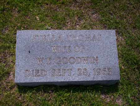 THOMAS GOODWIN, STELLA - Union County, Arkansas | STELLA THOMAS GOODWIN - Arkansas Gravestone Photos