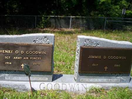 GOODWIN (VETERAN), HENRY O D - Union County, Arkansas | HENRY O D GOODWIN (VETERAN) - Arkansas Gravestone Photos