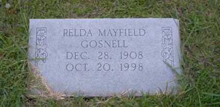 GOSNELL, RELDA - Union County, Arkansas | RELDA GOSNELL - Arkansas Gravestone Photos
