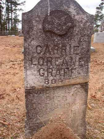 GRAFF, CARRIE LOREANE - Union County, Arkansas | CARRIE LOREANE GRAFF - Arkansas Gravestone Photos