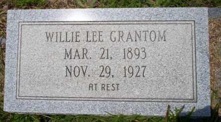 GRANTOM, WILLIE LEE - Union County, Arkansas   WILLIE LEE GRANTOM - Arkansas Gravestone Photos