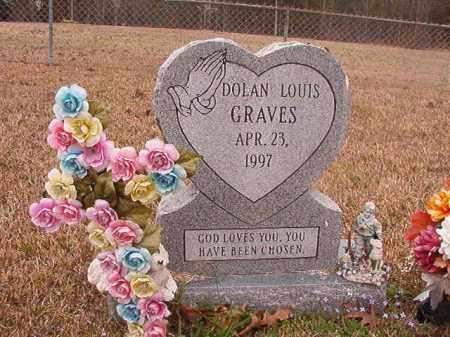 GRAVES, DOLAN LOUIS - Union County, Arkansas | DOLAN LOUIS GRAVES - Arkansas Gravestone Photos