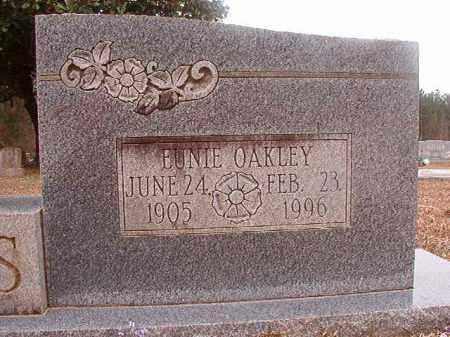 OAKLEY GRAVES, EUNIE - Union County, Arkansas | EUNIE OAKLEY GRAVES - Arkansas Gravestone Photos