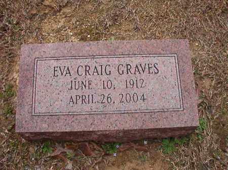 GRAVES, EVA - Union County, Arkansas | EVA GRAVES - Arkansas Gravestone Photos