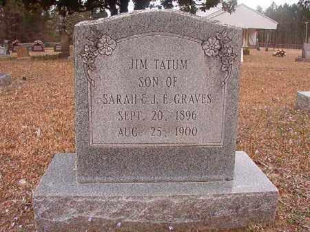 GRAVES, JIM TATUM - Union County, Arkansas   JIM TATUM GRAVES - Arkansas Gravestone Photos