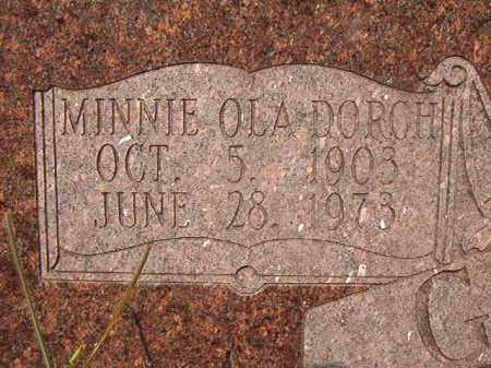 GRAY, MINNIE OLA - Union County, Arkansas | MINNIE OLA GRAY - Arkansas Gravestone Photos