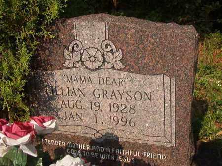 GRAYSON, LILLIAN - Union County, Arkansas   LILLIAN GRAYSON - Arkansas Gravestone Photos