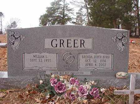 GREER, BRENDA JOYCE - Union County, Arkansas   BRENDA JOYCE GREER - Arkansas Gravestone Photos
