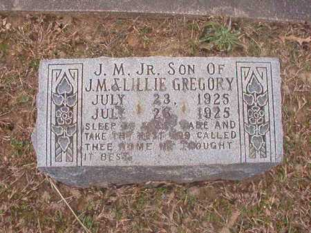 GREGORY, JR, J M - Union County, Arkansas | J M GREGORY, JR - Arkansas Gravestone Photos