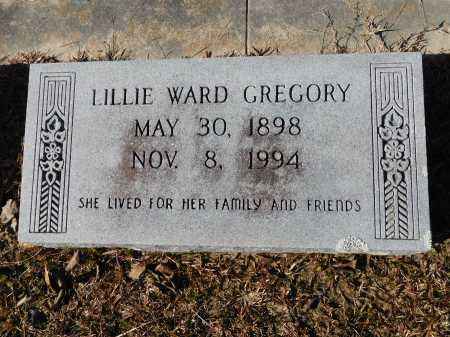 GREGORY, LILLIE - Union County, Arkansas | LILLIE GREGORY - Arkansas Gravestone Photos