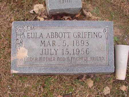GRIFFING, EULA - Union County, Arkansas | EULA GRIFFING - Arkansas Gravestone Photos