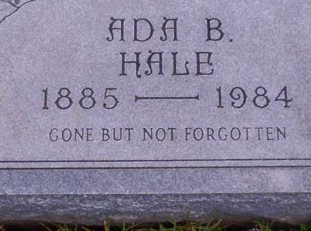 HALE, ADA B - Union County, Arkansas | ADA B HALE - Arkansas Gravestone Photos