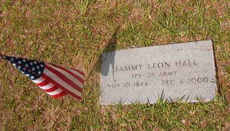 HALL (VETERAN), SAMMY LEON - Union County, Arkansas | SAMMY LEON HALL (VETERAN) - Arkansas Gravestone Photos