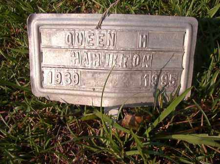 HAMILTON, QUEEN M - Union County, Arkansas | QUEEN M HAMILTON - Arkansas Gravestone Photos