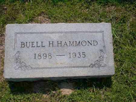 HAMMOND, BUELL H - Union County, Arkansas   BUELL H HAMMOND - Arkansas Gravestone Photos
