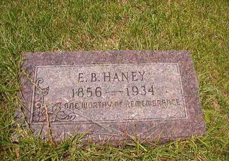 HANEY, E B - Union County, Arkansas   E B HANEY - Arkansas Gravestone Photos