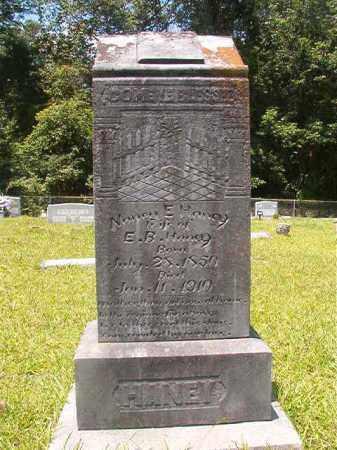 HANEY, NANCY E - Union County, Arkansas   NANCY E HANEY - Arkansas Gravestone Photos
