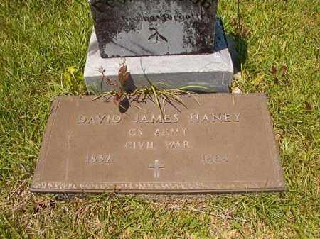 HANEY (VETERAN CSA), DAVID JAMES - Union County, Arkansas | DAVID JAMES HANEY (VETERAN CSA) - Arkansas Gravestone Photos