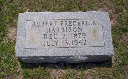 HARBISON, ROBERT FREDERICK - Union County, Arkansas | ROBERT FREDERICK HARBISON - Arkansas Gravestone Photos