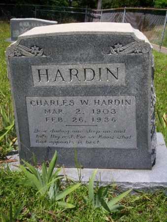 HARDIN, CHARLES W - Union County, Arkansas   CHARLES W HARDIN - Arkansas Gravestone Photos
