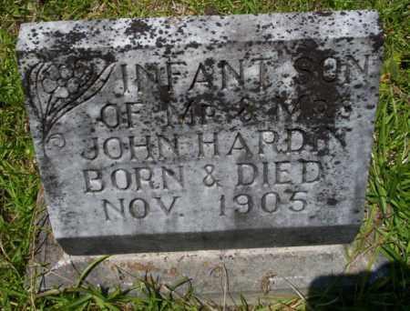 HARDIN, INFANT SON - Union County, Arkansas | INFANT SON HARDIN - Arkansas Gravestone Photos