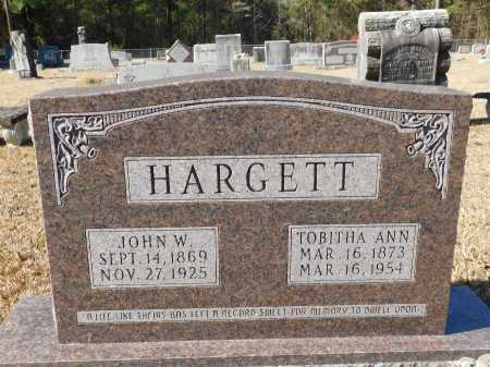 HARGETT, JOHN W - Union County, Arkansas | JOHN W HARGETT - Arkansas Gravestone Photos