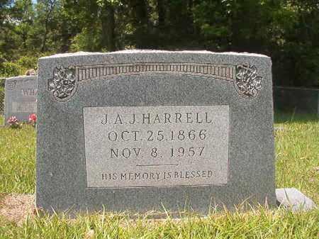 HARRELL, J A J - Union County, Arkansas | J A J HARRELL - Arkansas Gravestone Photos