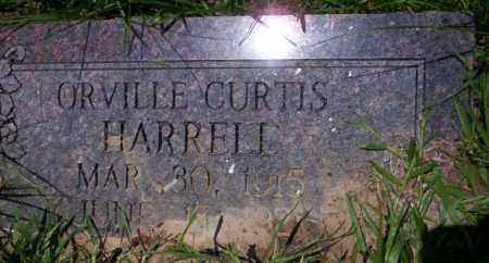 HARRELL, ORVILLE CURTIS - Union County, Arkansas | ORVILLE CURTIS HARRELL - Arkansas Gravestone Photos