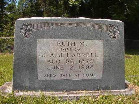 HARRELL, RUTH M - Union County, Arkansas | RUTH M HARRELL - Arkansas Gravestone Photos