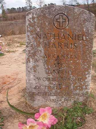 HARRIS (VETERAN WWII), NATHANIEL - Union County, Arkansas | NATHANIEL HARRIS (VETERAN WWII) - Arkansas Gravestone Photos