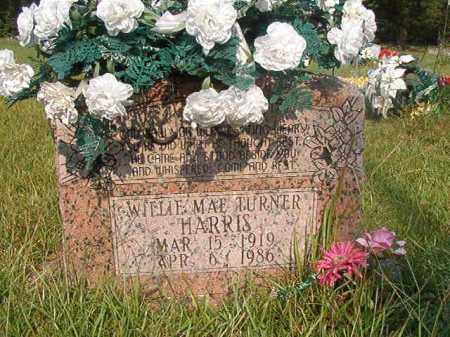 TURNER HARRIS, WILLIE MAE - Union County, Arkansas | WILLIE MAE TURNER HARRIS - Arkansas Gravestone Photos