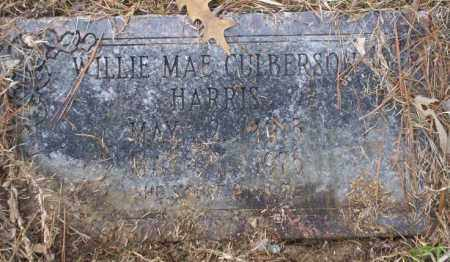 CULBERSON HARRIS, WILLIE MAE - Union County, Arkansas | WILLIE MAE CULBERSON HARRIS - Arkansas Gravestone Photos